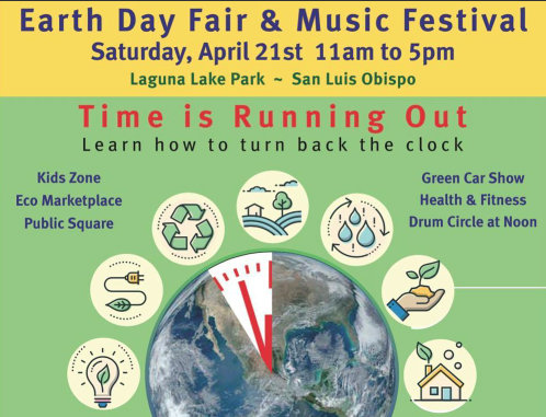 NAACP SLO County Supports Earth Day 2018
