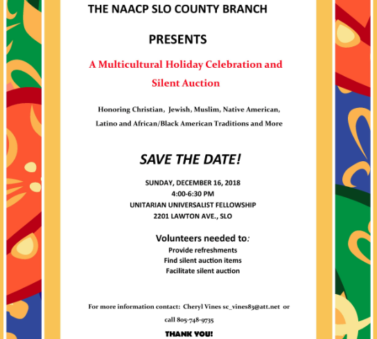 Multicultural Holiday Celebration and Fundraiser